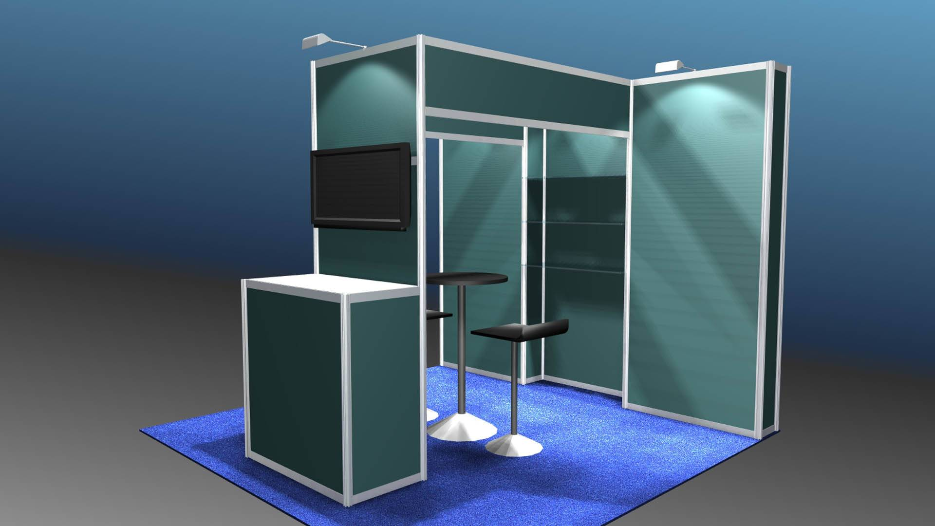 Affordable Expo Exhibits ASI Miami Rentals