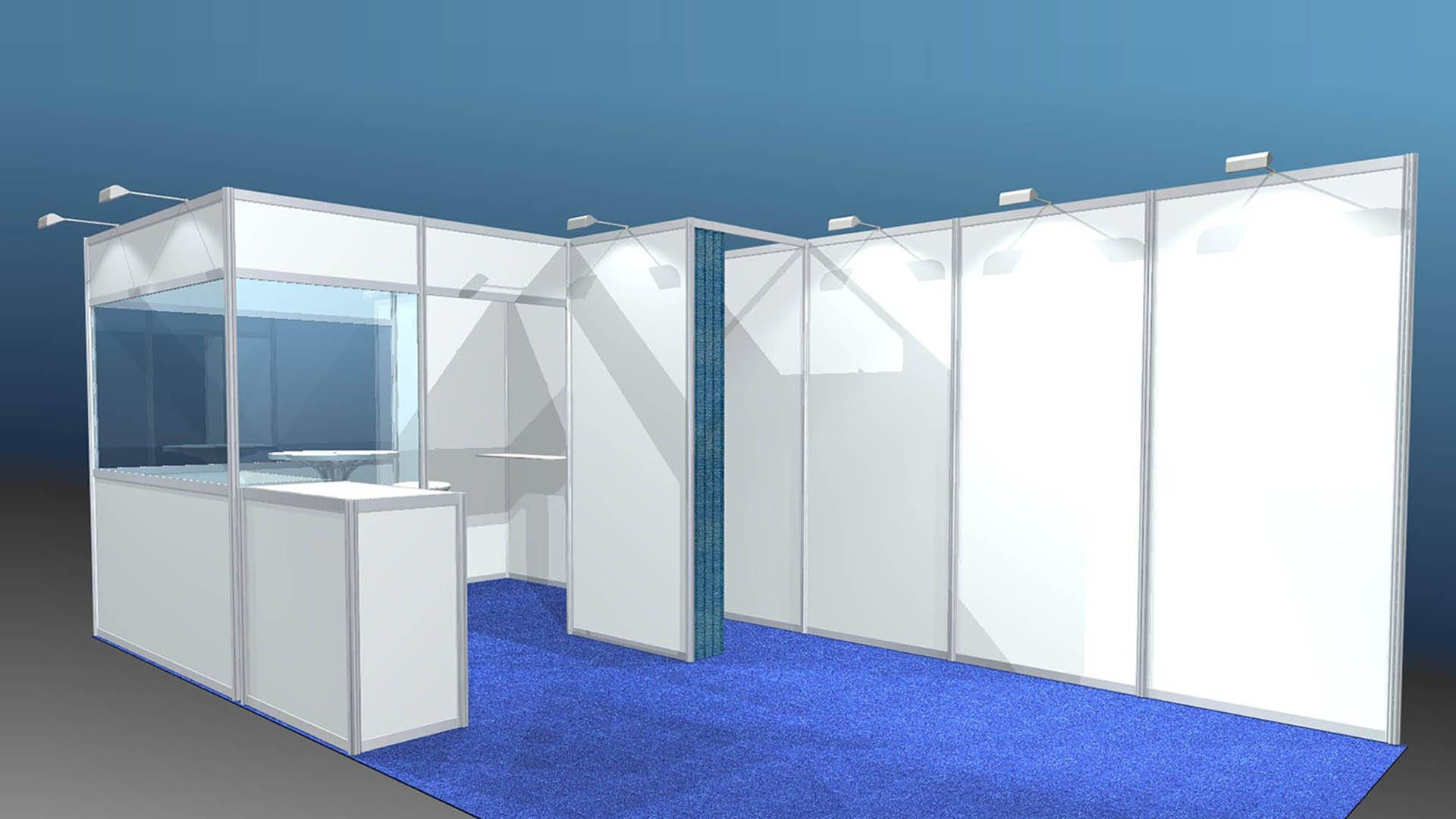 New Orleans Exhibition Booth Displays For Hire