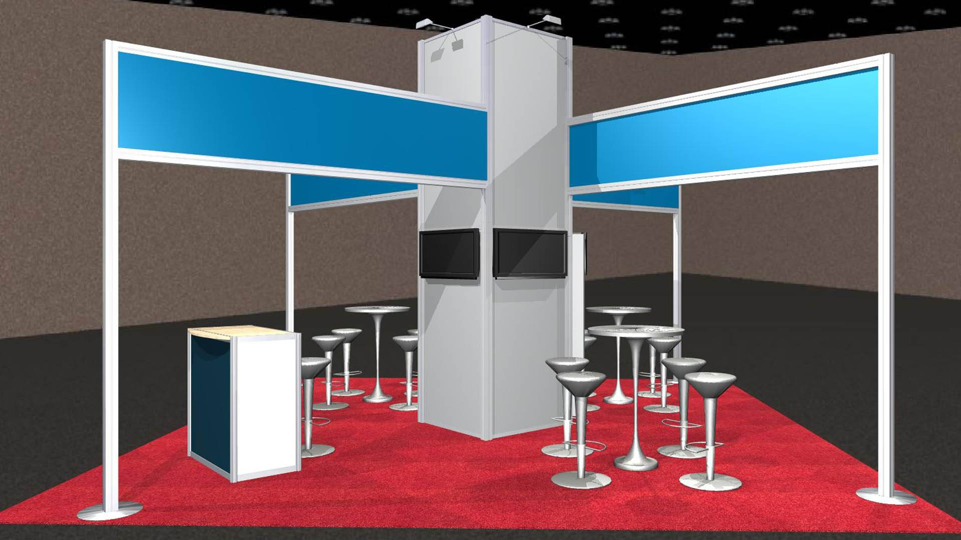 Miami Rental Exhibit Booth Builder