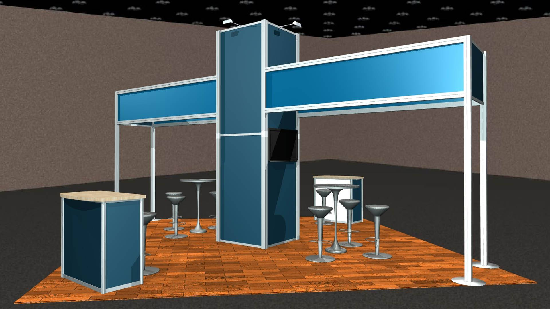 Metro Miami Island Trade Show Exhibits Rental